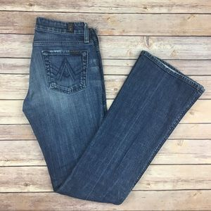 """7 For All Mankind """"A Pocket"""" Bootcut Jeans"""